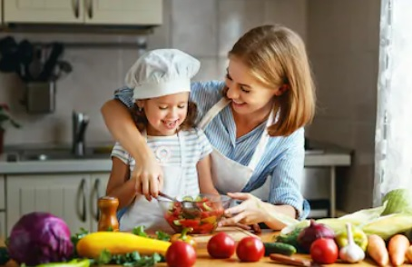 Cooking with and for your Kids